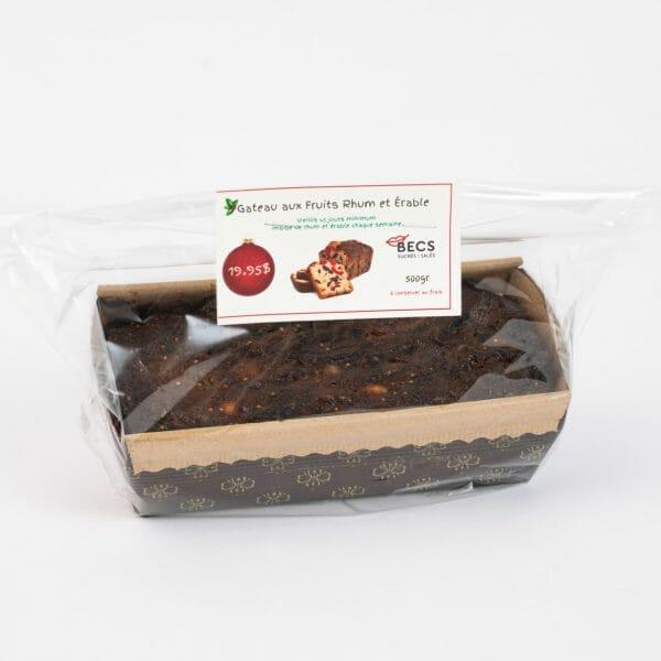 Gâteau aux Fruits Rhum et Érable (vieillis 45 jours)
