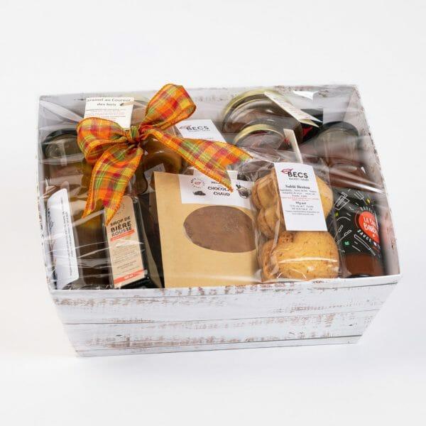 Panier Cadeaux Découverte 100% Les Becs Sucrés-Salés (65 $)